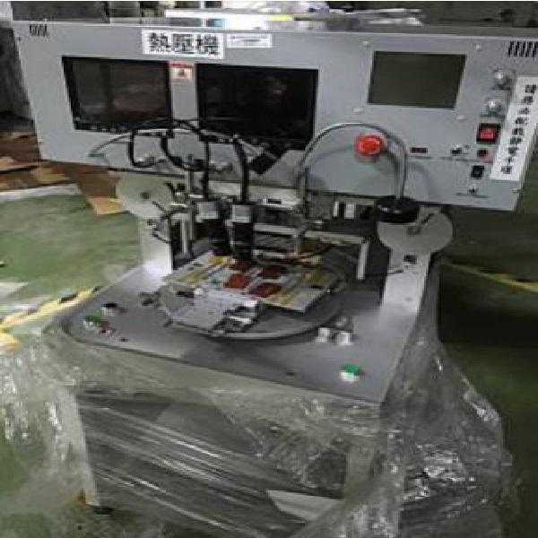 二手中古 信力轉盤式熱壓機 TM-100PR