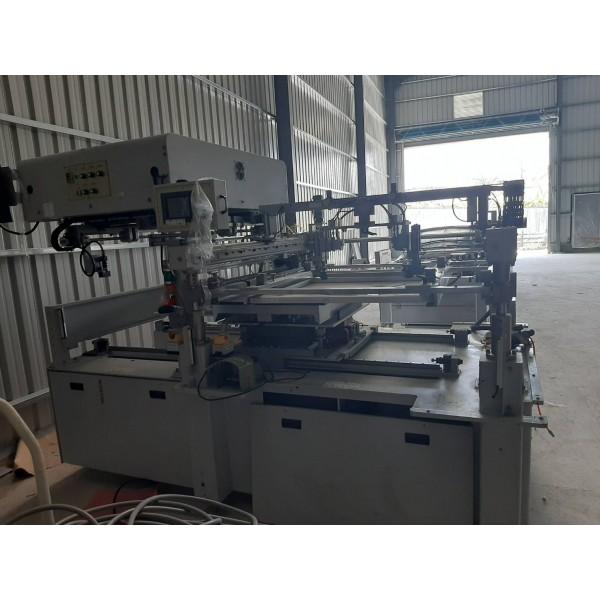 二手中古自動對位網版印刷機